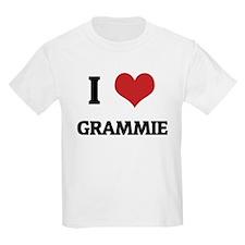 I Love Grammie Kids T-Shirt
