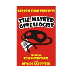 The Masked Genealogist Posters