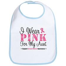 I Wear Pink For My Aunt Bib