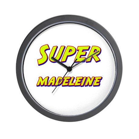 Super madeleine Wall Clock
