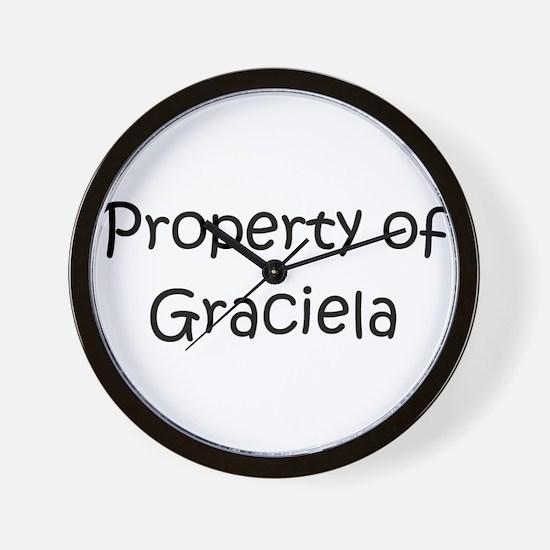 Cool Graciela Wall Clock