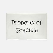 Cute Graciela Rectangle Magnet