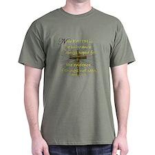 Faith (Heb. 11:1 KJV) T-Shirt