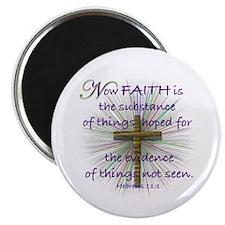 Faith (Heb. 11:1 KJV) Magnet