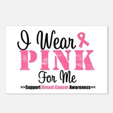 I Wear Pink For Me Postcards (Package of 8)