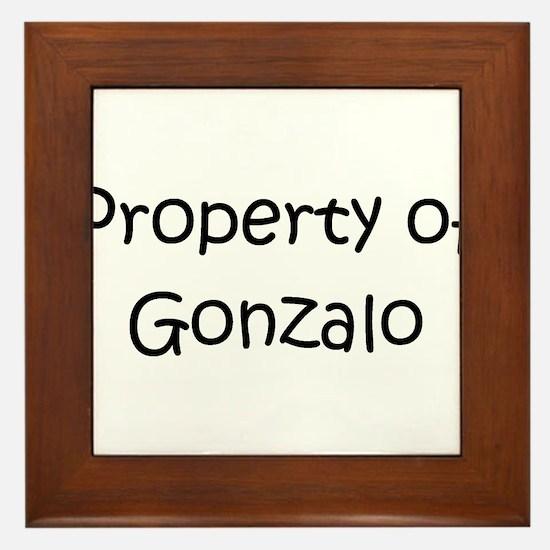 Unique Gonzalo Framed Tile