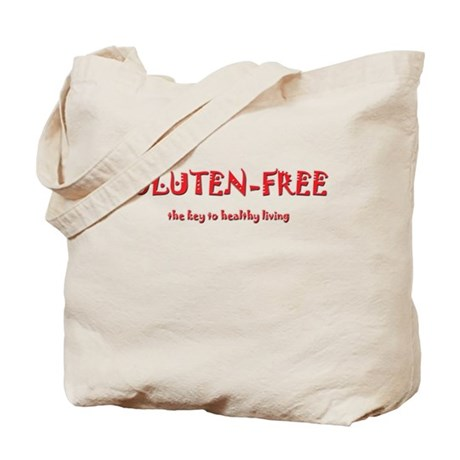 GLUTEN-FREE the key to health Tote Bag