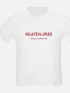 GLUTEN-FREE the key to health T-Shirt