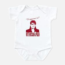Doggone-it! Vote McCain & Pal Infant Bodysuit