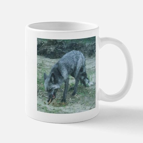 Silver Fox Chewing Mug