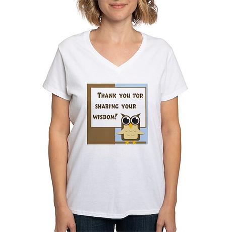 Teacher Appreciation Women's V-Neck T-Shirt