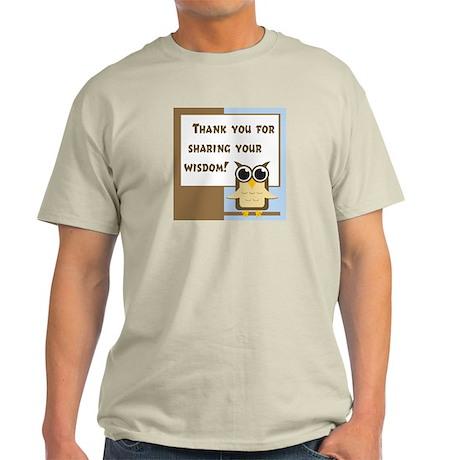 Teacher Appreciation Light T-Shirt