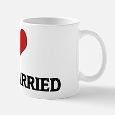 I Love Being Married Mug
