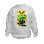 An American Thanksgiving Kids Sweatshirt