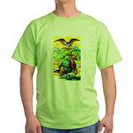 An American Thanksgiving Green T-Shirt