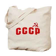Hammer and Sickle CCCP Tote Bag