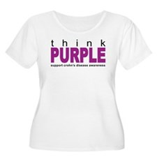 Think Purple: Crohn's Disease T-Shirt