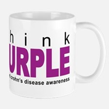 Think Purple: Crohn's Disease Mug
