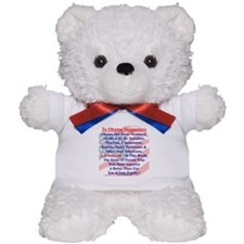 """Ask Yourself"" Teddy Bear"