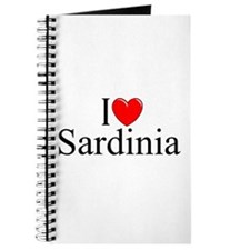 """I Love (Heart) Sardinia"" Journal"