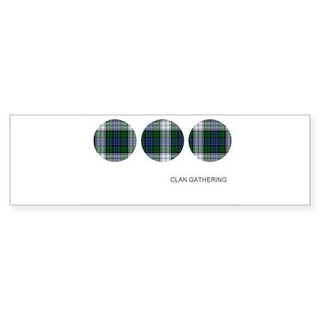 Sutherland Clan Tartan Bumper Sticker