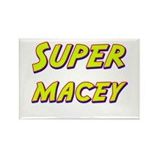 Super macey Rectangle Magnet