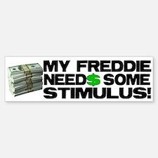 My Freddie! Bumper Bumper Bumper Sticker