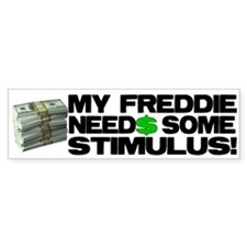 My Freddie! Bumper Bumper Sticker