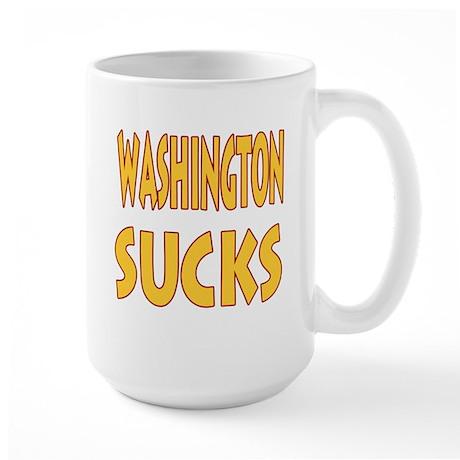 Washington Sucks Large Mug