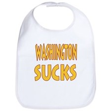 Washington Sucks Bib