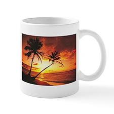 Tropical Beach Sunset Small Mug