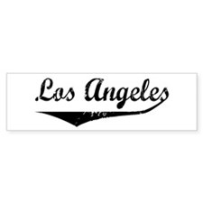 Los Angeles Bumper Bumper Sticker