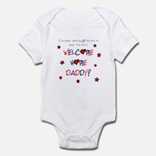 Welcome Home Daddy (15 month) Infant Bodysuit
