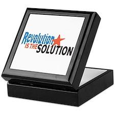 Revolutiion is the Solution Keepsake Box