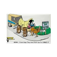 Covered Wagon RV Magnets
