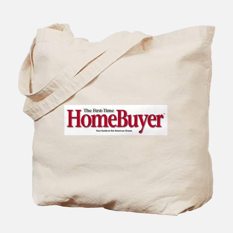 Cute First time home buyer Tote Bag