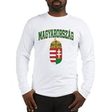 Hungary Long Sleeve T-shirts