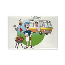 Cute Funny rv Rectangle Magnet
