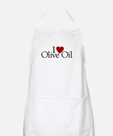 I Love Olive Oil BBQ Apron