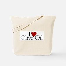 I Love Olive Oil Tote Bag