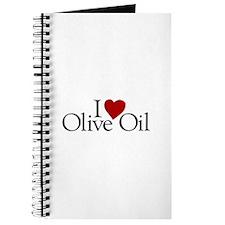 I Love Olive Oil Journal