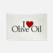 I Love Olive Oil Rectangle Magnet
