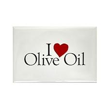I Love Olive Oil Rectangle Magnet (100 pack)
