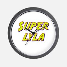 Super lyla Wall Clock
