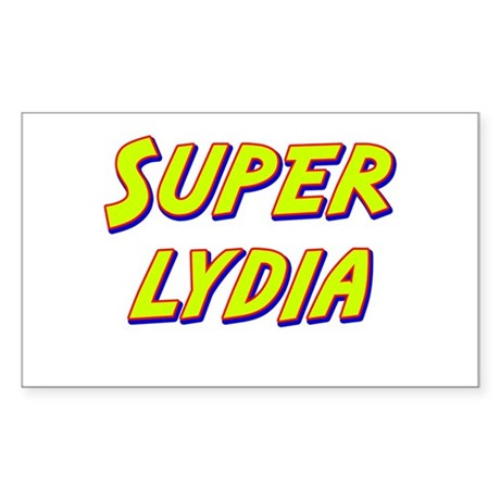 Super lydia Rectangle Sticker