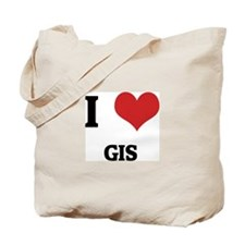 I Love GIS Tote Bag