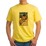 Joyous Halloween Yellow T-Shirt