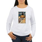 Joyous Halloween Women's Long Sleeve T-Shirt