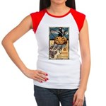 Joyous Halloween Women's Cap Sleeve T-Shirt