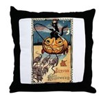 Joyous Halloween Throw Pillow